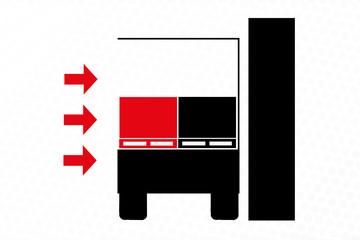 One-side unloading