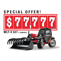"Special Offer* MLT-X 627 20"" C @ $ 77,777 ex GST. Don't miss it!"